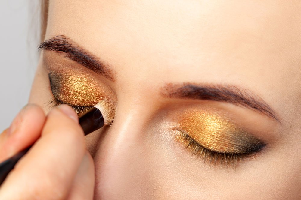 smokey eyes gold tipps anleitung