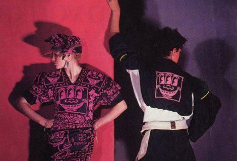 Bei Vivienne Westwood war die Mode bunt und extravagant