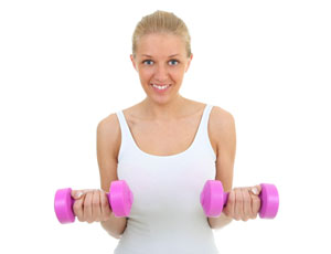 Frontheben stärkt die Deltamuskeln
