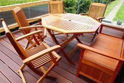 Gartenmöbel Material ? Holz, Metall, Kunststoff Und Polyrattan Im ... Gartenmobel Aus Holz Richtige Wahl