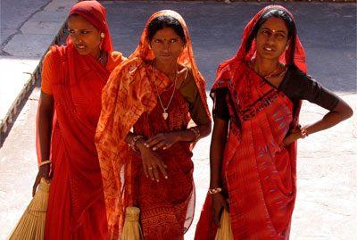 Modetrends Frühling Sommer 2013 Indien Saris