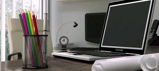Steuererklärung 2012 - Arbeitszimmer