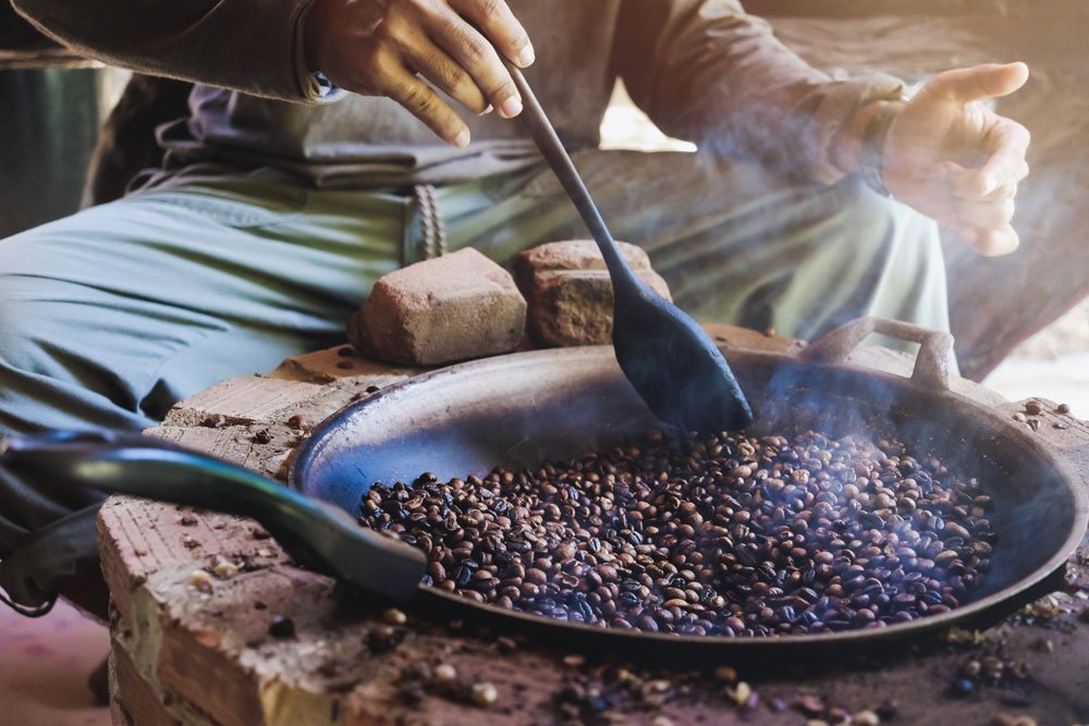 kaffee rösten tipps anleitung pfanne