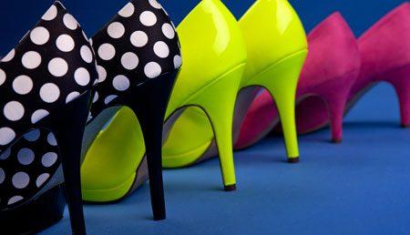 Schuhtrends 2013 Trendfarben