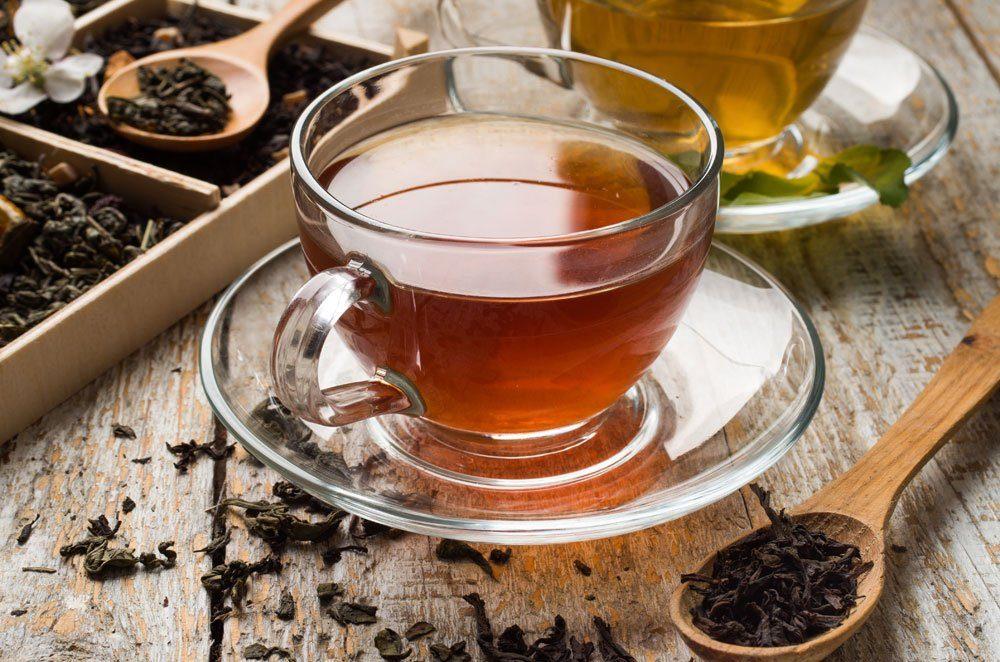 Teein Koffein, Schwarzer Tee, Grüner Tee