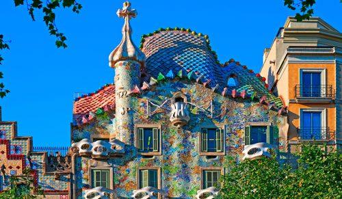 Sehenswürdgkeiten Barcelona Casa Batllo