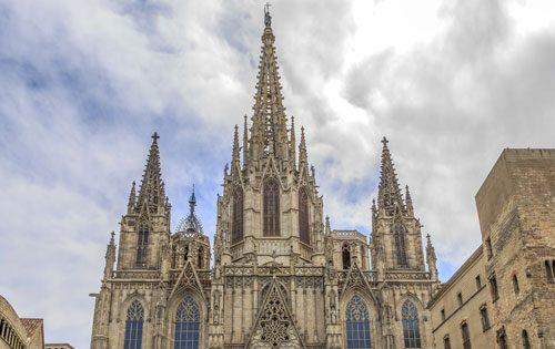 Sehenswürdigkeiten Barcelona Kathedrale