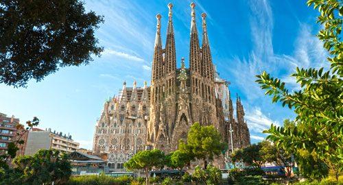 Sehenswürdigkeiten Barcelona-Sagrada Familia