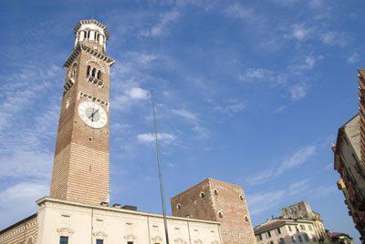 Sehenswürdigkeiten Verona Torre dei Lamberti