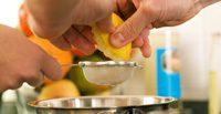 Zitronen- oder Limettensaft neutralisieren