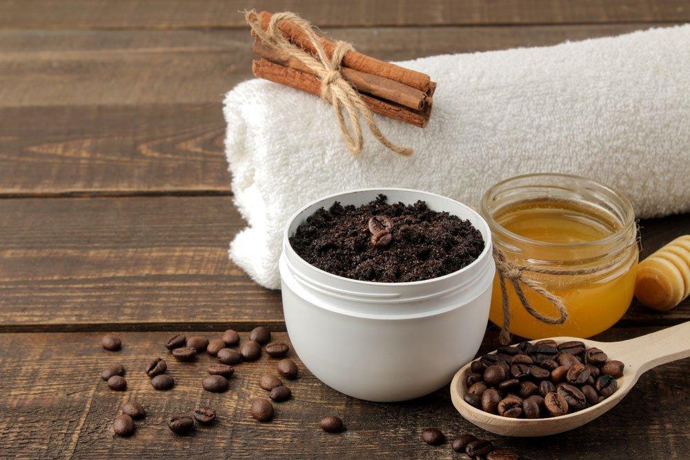 kaffee kaffeesatz peeling tipps anleitung