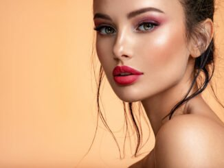 make-up trends glow