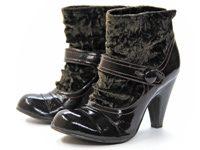 Materialmix-Schuhe