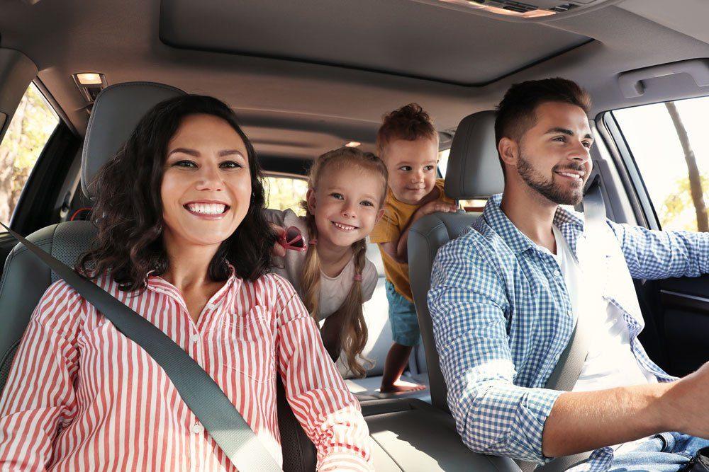 Urlaub Reise Autobahn Kinder Langeweile