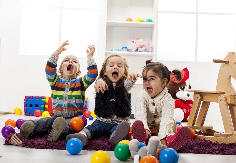 Kinderzimmer Sicherheit schützen Unfall