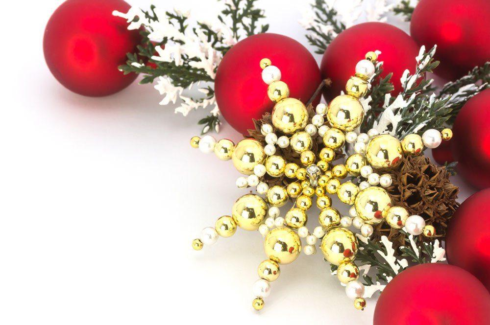 Weihnachtsstern Perlen basteln