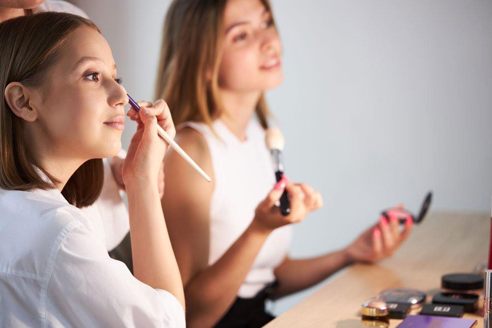 make-up schule teenager tipps