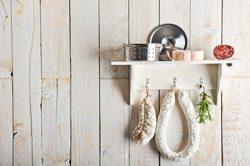 Küche dekorieren - Regal als Blickfang und Ablage