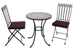 Küche dekorieren - Tisch und Stühl eim Toscana-Stil
