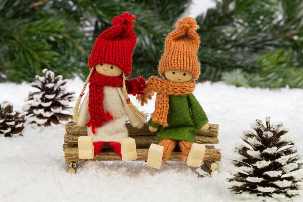 Puppen Deko Weihnachten