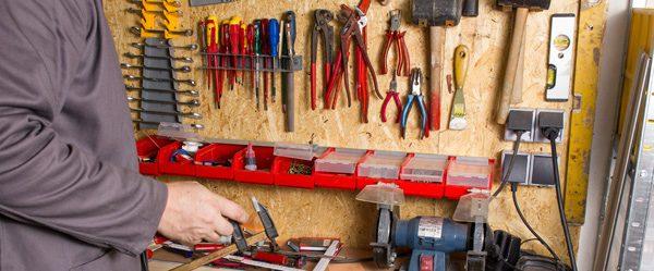 Werkzeugwand bauen - Schritt für Schritt Anleitung