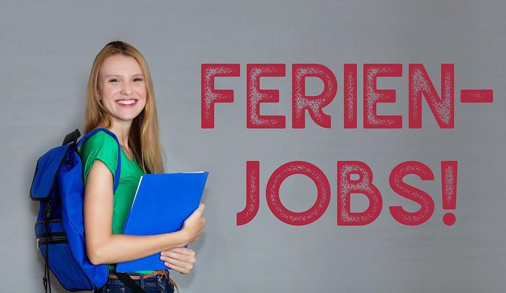 Ferienjobs für Schülerinnen und Schüler