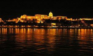 Blick vom Danubius Hotel
