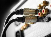 Kabel für das Heim-Soundsystem