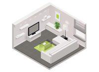 TV-Raum-Verhältnis