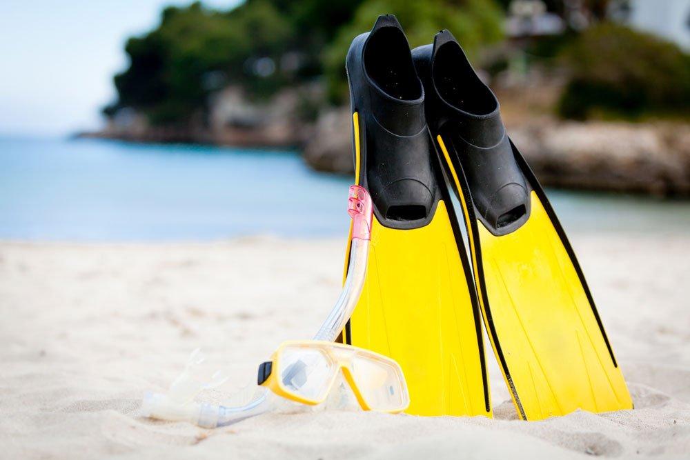 malediven schnorcheln ausrüstung
