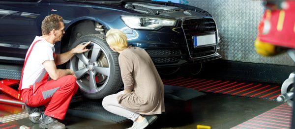 Bremsen quietschen - Problembehandlung beim Fachmann