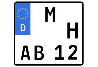 Motorrad zulassen H Kennzeichen