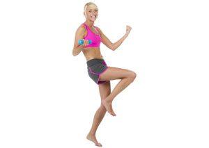 Skigymnastik Übungen Aufwärmphase
