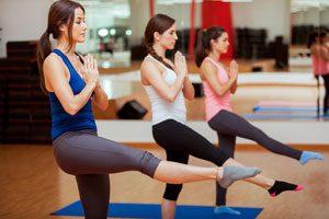 Skigymnastik Übungen Gleichgewicht