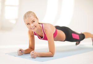 Skigymnastik Übungen unterer Bauch