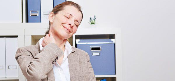 Nackenschmerzen Arbeitsplatz