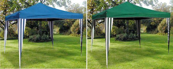Pavillon - freistehender Sonnen-, Wind- und Regenschutz
