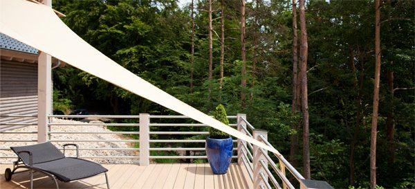 Sonnensegel - individuell montierbar mit UV Schutz