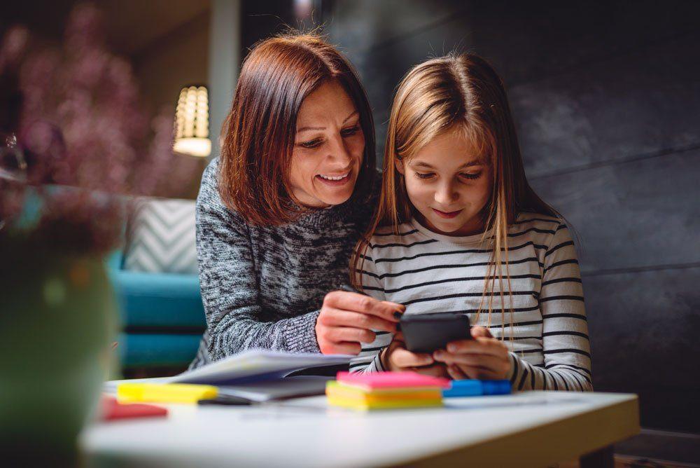 Kinder Handy Smartphone Eltern