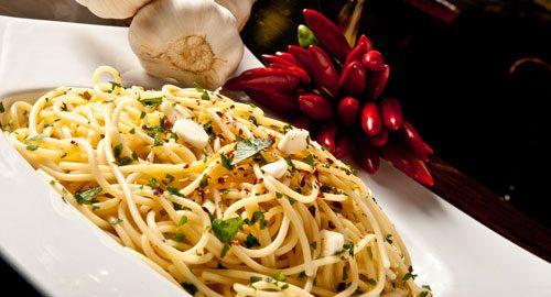 Bella Italia beliebtesten Soßen Spaghetti Aglio Olio