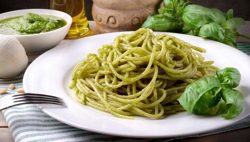 Bella Italia beliebtesten Soßen Spaghetti Pesto Genovese