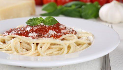 Bella Italia beliebtesten Soßen Spaghetti Tomatensoße