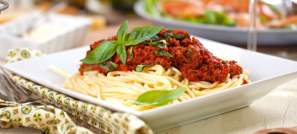 Bella Italia beliebtesten Soßen Spaghetti