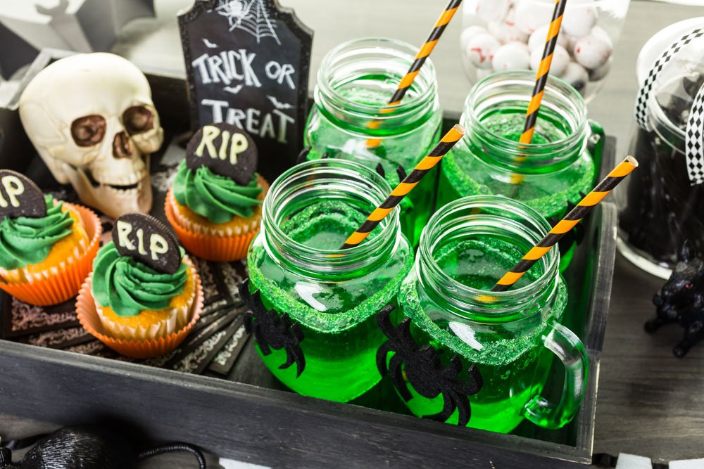 Getränke, Halloweenparty, Tipps