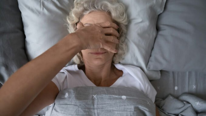 schlafstörung wechseljahre tipps